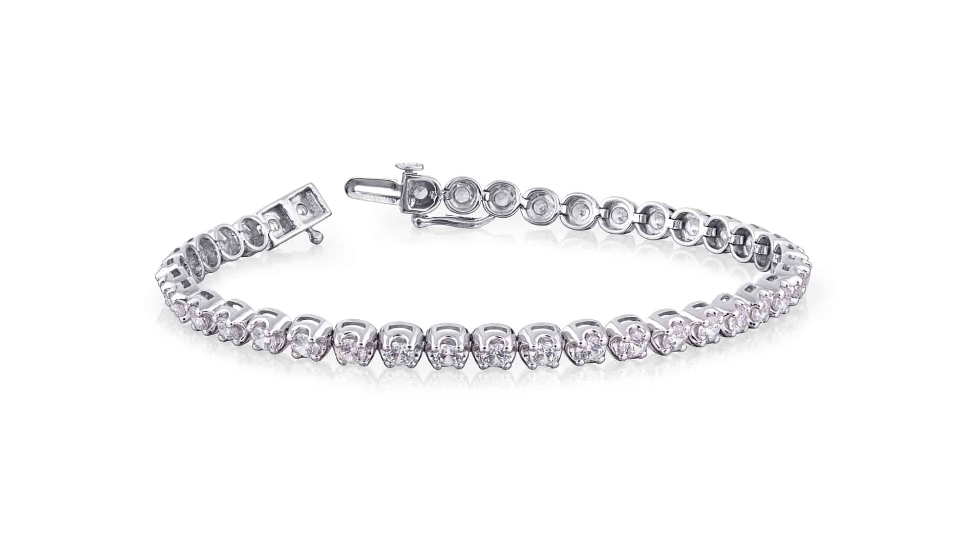 Diamond Set Tennis Bracelet