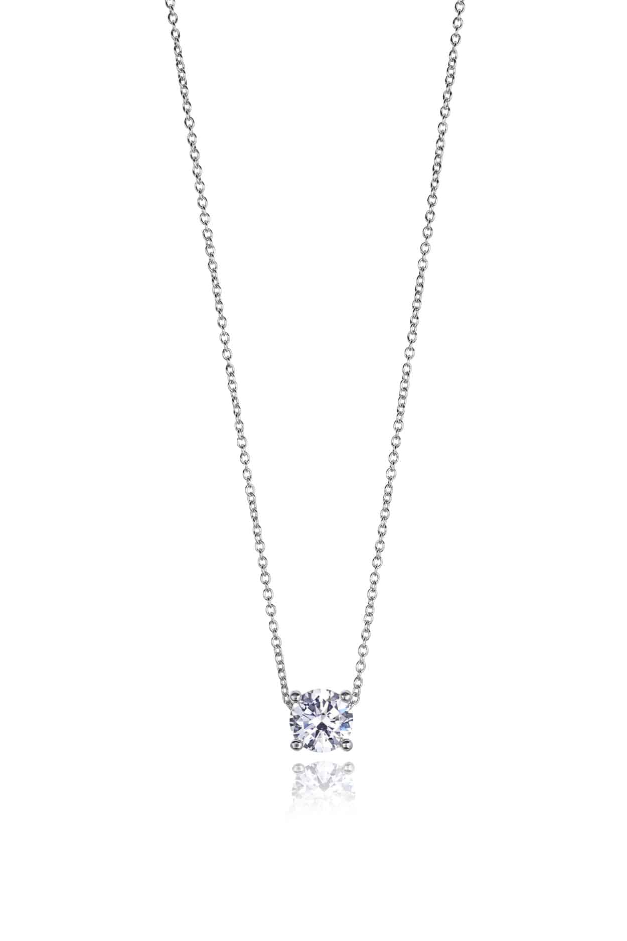 Diamond Four Claw Slider Pendant