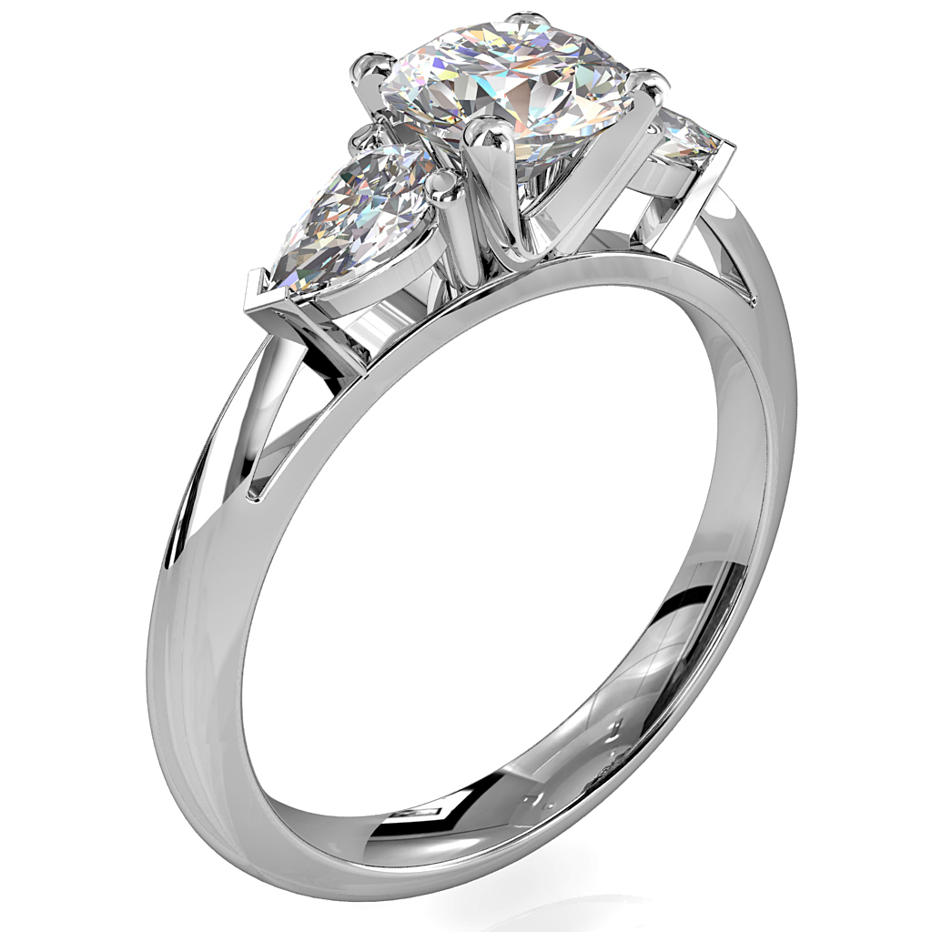035-00345-round-brilliant-cut-diamond-trilogy-engagement-ring-4-claw-set-with-pear-shape-side-stones-on-a-whitakers-1
